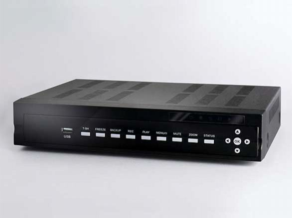 AHD2.0対応  2000GB HDD内蔵 4chデジタルレコーダー