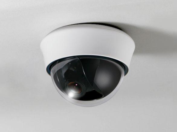 屋内用ドームカメラ